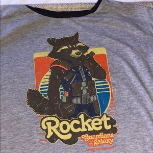 Disney Tops - Disney guardians of the galaxy tshirt